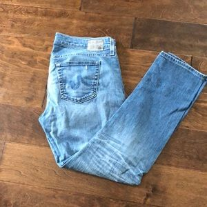 AG Relaxed slim ankle jeans